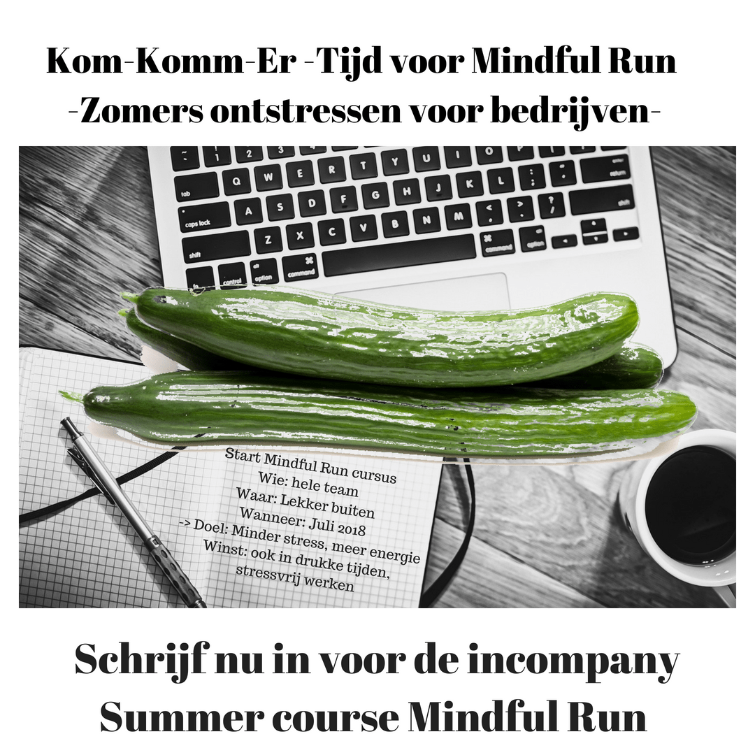 Inschrijving Summer course Mindful Run InCompany geopend